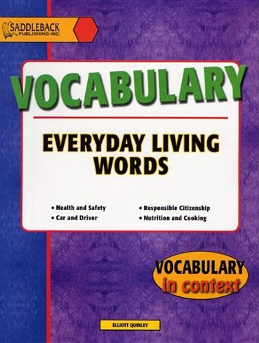 9781562543921: Everyday Living: Vocabulary (Vocabulary in Context)