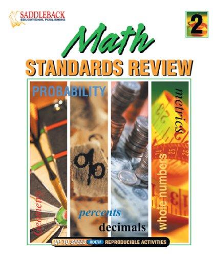 Math Standards Review 2 (Math Standards Review Binders): Kent Publishing (EDT)