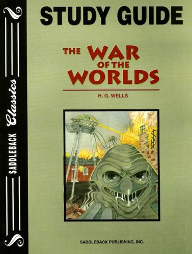 9781562545345: The War of the Worlds Study Guide (Saddleback Classics)