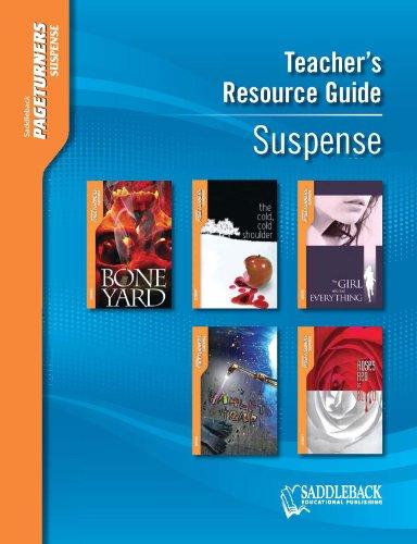 Suspense Teacher's Guide (Pageturners): Laurel and Associates (EDT)