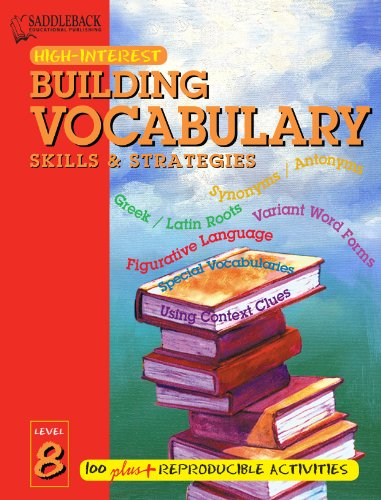 9781562547264: Building Vocabulary Skills and Strategies Level 8 (Building Vocabulary Skills & Strategies)