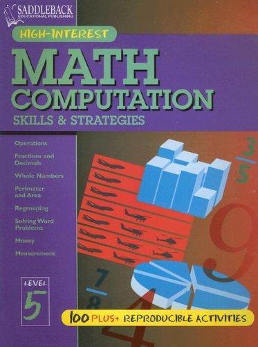 Math Computation Skills & Strategies: Level 5