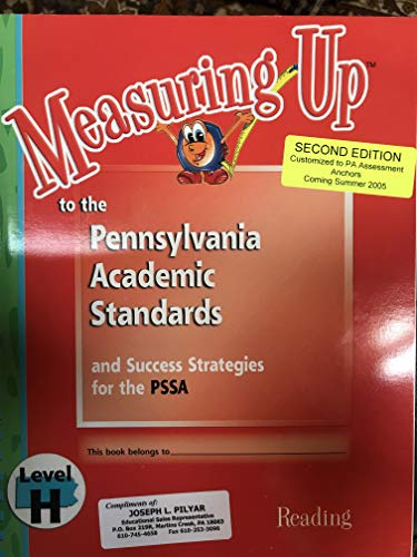 9781562563318: Measuring Up to the Pennsylvania Academic Standards and Success Strategies for the PSSA Reading Level H