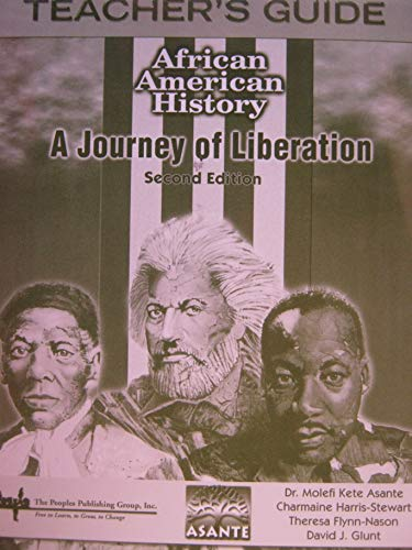 9781562566029: African American History A Journey of Liberation (Teacher's Guide 2nd Edition)