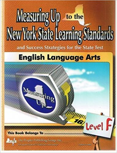 9781562566579: Measuring Up to the New York State Learning Standards and Success Strategies for the State Test (English Language Arts, Level F)