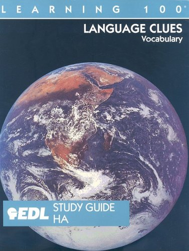9781562606930: Learning 100 Language Clues Vocabulary : EDL Study Guide HA 1-20