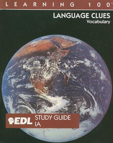 9781562606947: Language Clues: IA 1-20: Vocabulary (EDL Learning 100 Language Clues)