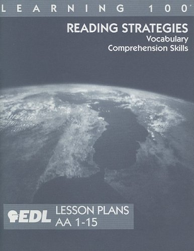 Reading Strategies Lesson Plans, AA 1-15: Vocabulary,: E. Patricia Birsner,