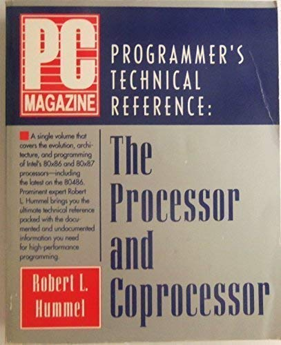 9781562760168: PC Magazine Programmer's Technical Reference: The Processor and Coprocessor