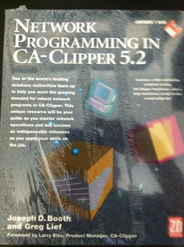 9781562761196: Network Programming in Ca-Clipper 5.2/Book and Disk
