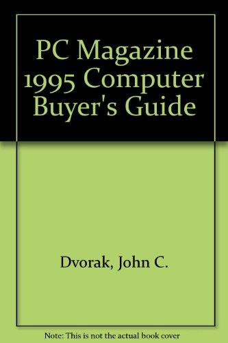 9781562761509: PC Magazine 1995 Computer Buyer's Guide