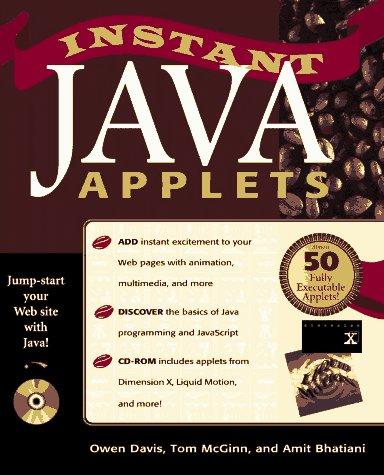 9781562763862: Instant Java Applets