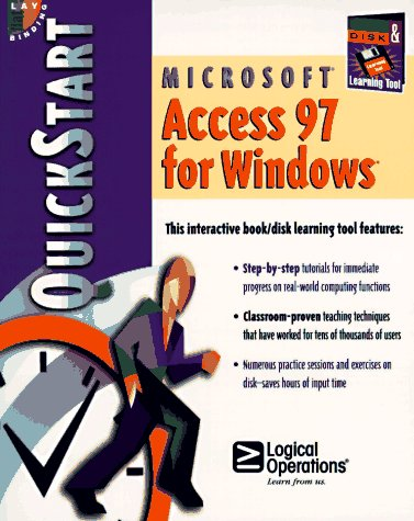 9781562764739: Microsoft Access 97 for Windows: Quickstart