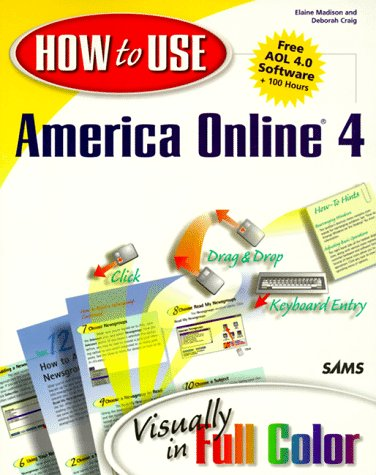 9781562765439: How to Use America Online: Visually in Full Color