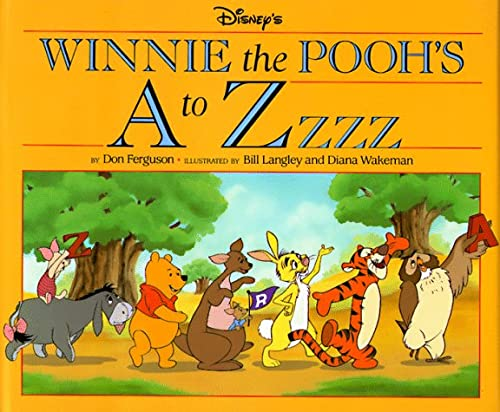 Disney's Winnie the Pooh's A to ZZzz (156282015X) by Ferguson, Don; Langley, Bill; Wakeman, Diana