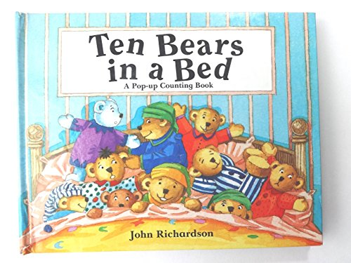 9781562821579: Ten Bears in a Bed: A Pop-Up Counting Book
