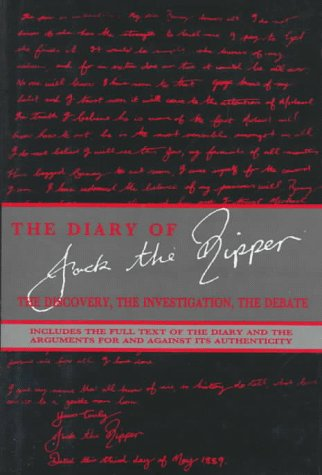 9781562827045: The Diary of Jack the Ripper: The Discovery, the Investigation, the Debate