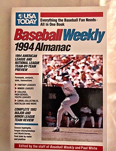 USA Today Baseball Weekly 1994 Alamanac: White, Paul