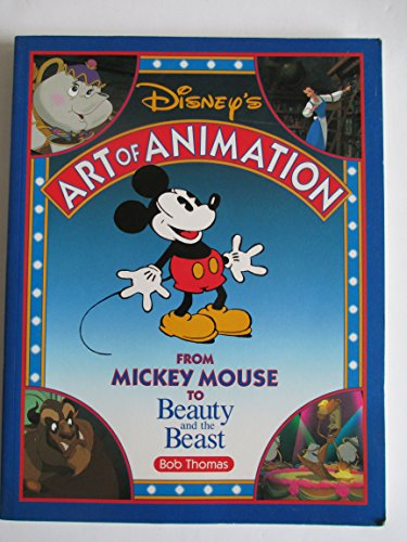 9781562828998: Disney's Art of Animation: From Mickey Mouse to Beauty and the Beast