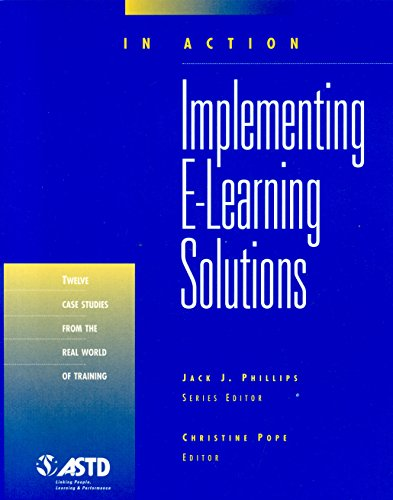 Implementing e-Learning Solutions (Paperback): Christine Pope