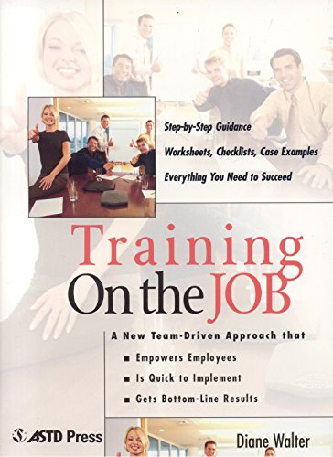 9781562863029: Training On the Job