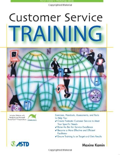 Customer Service Training (Mixed media product): Maxine Kamin