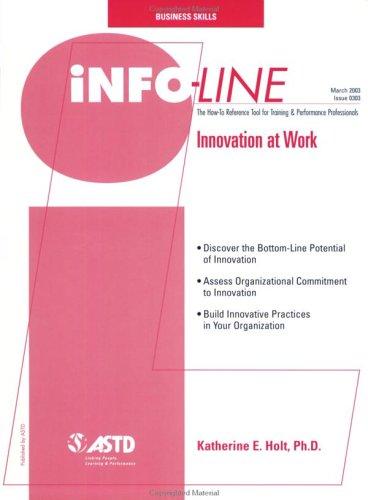 Innovation at Work: Katherine E. Holt