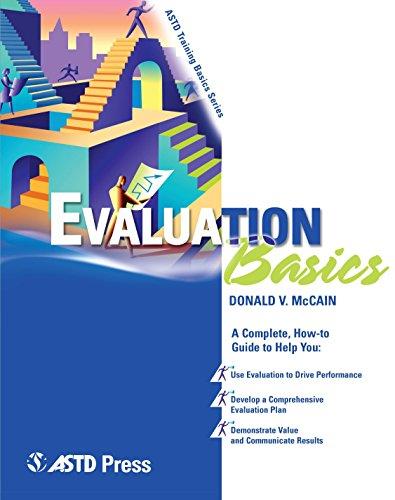 Evaluation Basics: Donald V. McCain