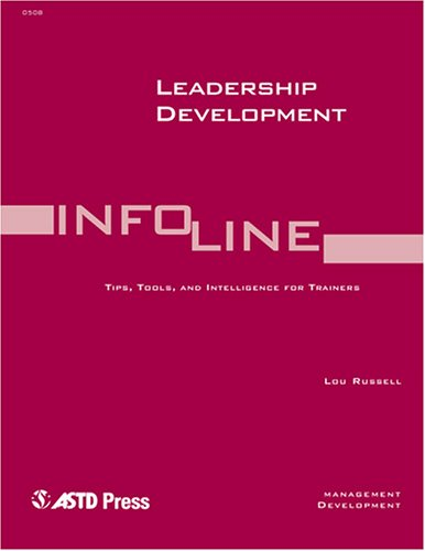 9781562863951: Leadership Development (Infoline Astd)