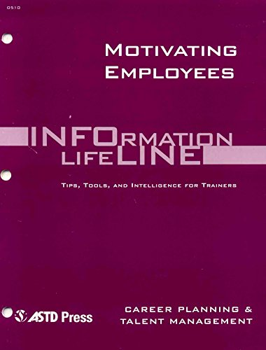 Motivating Employees (Paperback): Sharlyn J. Lauby