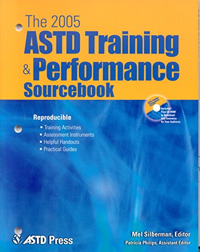 The 2005 ASTD Training and Performance Sourcebook (Mixed media product): Mel Silberman