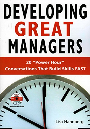 9781562865016: Developing Great Managers: Power Hour Conversations that Build Skills Fast