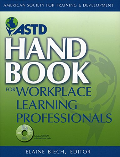 ASTD Handbook For Workplace Learning Professionals Format: AudioCD: Biech, Elaine
