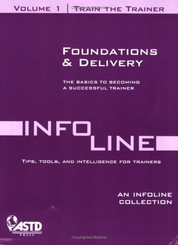 9781562865535: Train the Trainer Vol 1: Foundations & Delivery