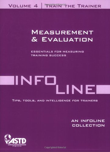 Train the Trainer: Measurement and Evaluation (Paperback)