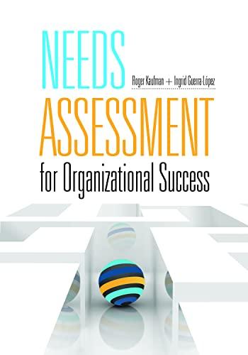 9781562868147: Needs Assessment for Organizational Success