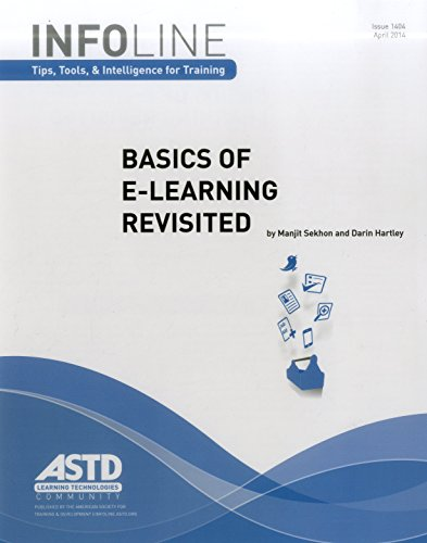 Basics of E-Learning Revisited (Infoline): Hartley, Darin