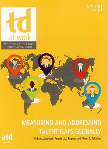 Measuring and Addressing Talent Gaps Globally: Rothwell, William; Zaballero, Aileen Guerrero; ...
