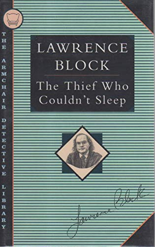 9781562870645: The Thief Who Couldn't Sleep (Armchair Detective Library)