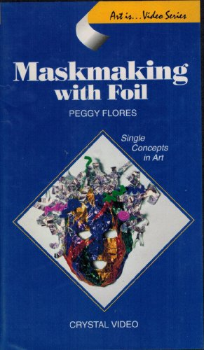 9781562902087: Maskmaking With Foil [VHS]