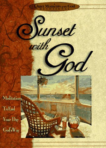 Sunset With God (Quiet Moments With God) (1562920316) by Honor Books