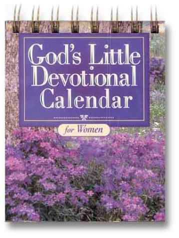 God's Little Devotional Calendar for Women (Inspirations): Honor Books [Editor]