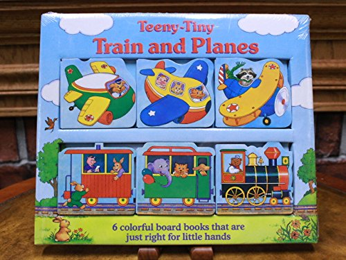 9781562932411: Teeny-Tiny Train and Planes (Story Trays--Board Books and Puzzles in One)