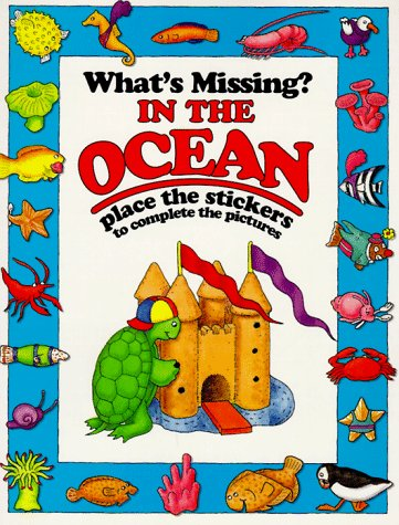 9781562933197: In the Ocean (What's Missing? Stickers Books)