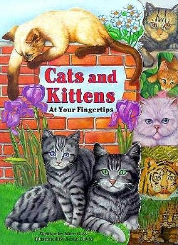 Cats and Kittens At Your Fingertips, a board book,