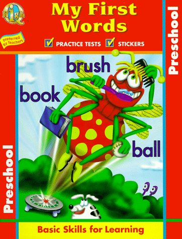 9781562939540: My First Words: Basic Skills for Learning (High Q Workbook Series)