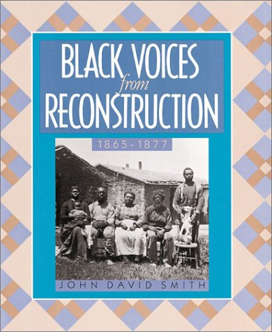 9781562945831: Black Voices/Reconstruction