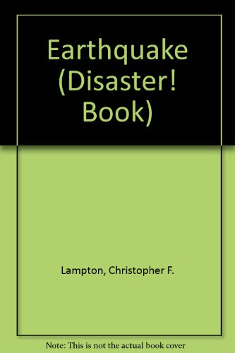 9781562947774: Earthquake (Pb) (A Disaster! Book)