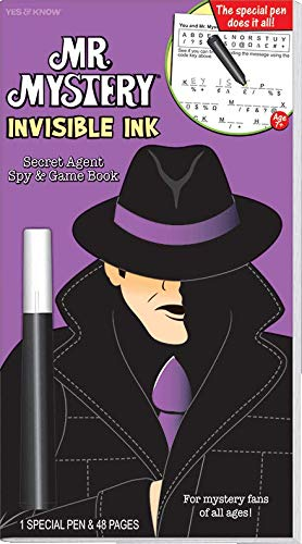 Mr. Mystery Invisible Ink Game Book: Secret: Yes & Know