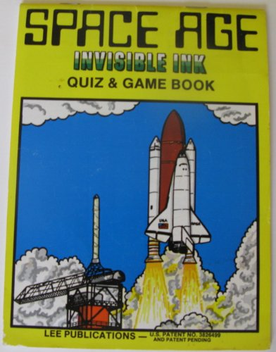 9781562970635: Space Age Invisible Ink Quiz and Game Book
